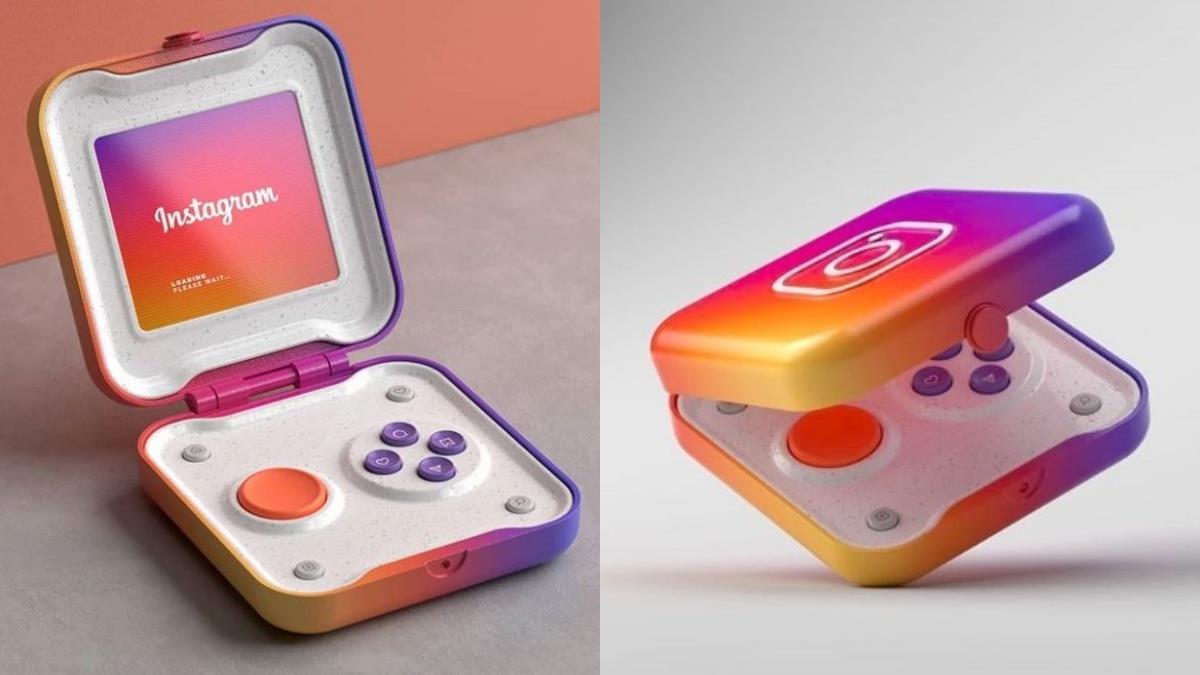IG化身掌上遊戲機?!法國設計師製作「彩虹摺疊爬文機」,按鍵超療癒愛心+收藏樣樣難不倒~