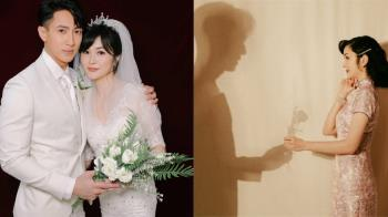 絕美婚紗只獻給妳!吳尊&愛妻補辦婚禮「相戀24年真情告白」:愛,是知道對方始終都在的安全感!