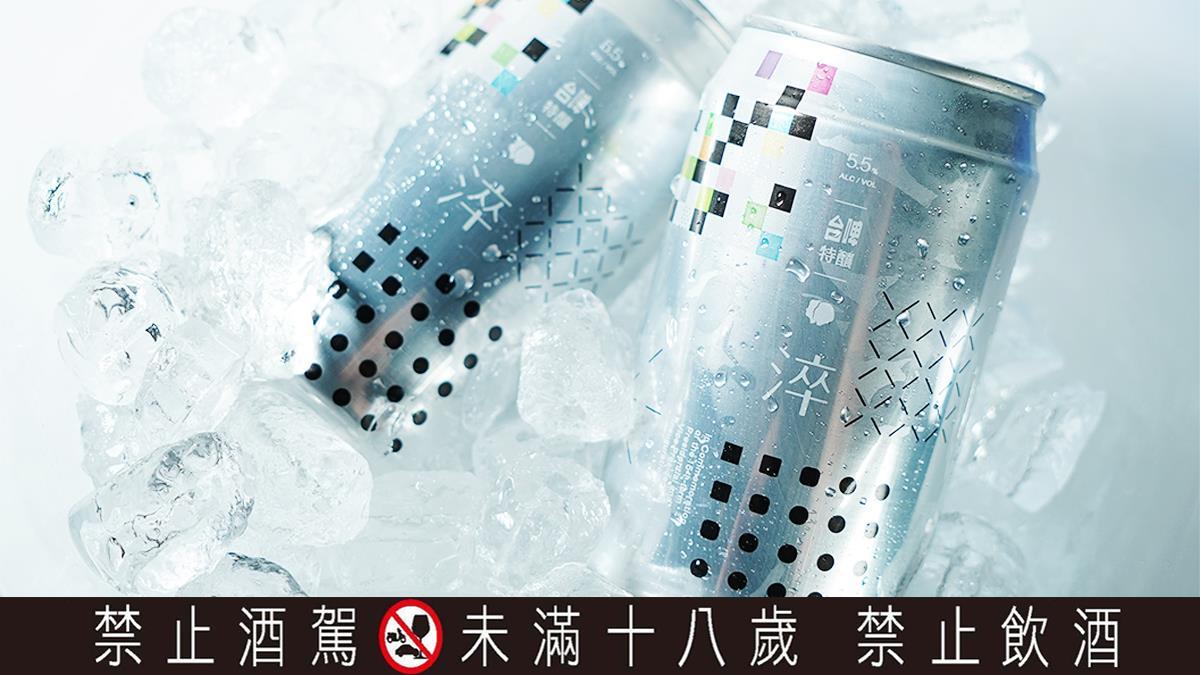 文青控必收藏!聶永真一手操刀「520台啤限定啤酒」簡約外型質感爆表,幾何風怎麼拍怎麼美