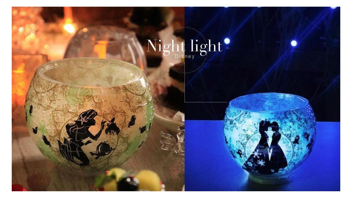 迪士尼x嚕嚕咪聯手太療癒!日本4款「拼圖蠟燭小夜燈」,點亮之後好像真的看到Elsa在施魔法啊~