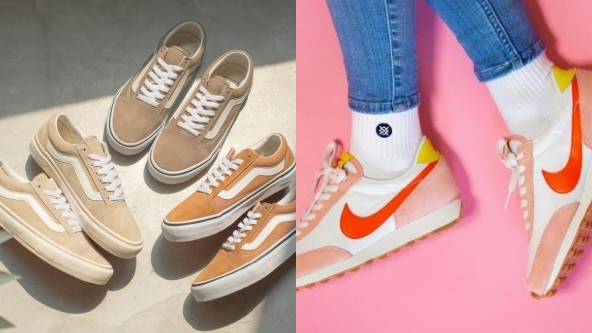 狙擊你的少女心♥️五款「校園夢幻鞋款」每款都是青春的滋味,Vans的奶茶色系列真的太美啦~