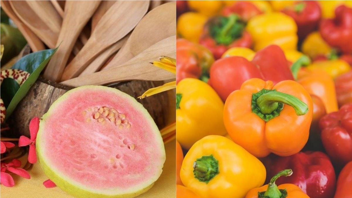 芭樂的維他命C比檸檬多!2種「抗氧化食物」抗老又瘦身:加碼養顏果汁&瘦身餐讓人越吃越美膩~