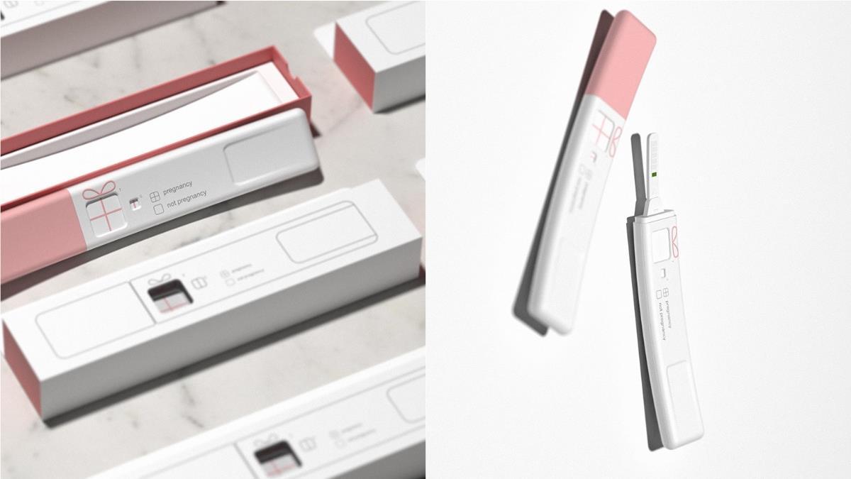 每一個生命都是禮物!韓國設計師推「唯美霧粉驗孕棒」,不光是外型美,背後藏小巧思根本暖到哭~