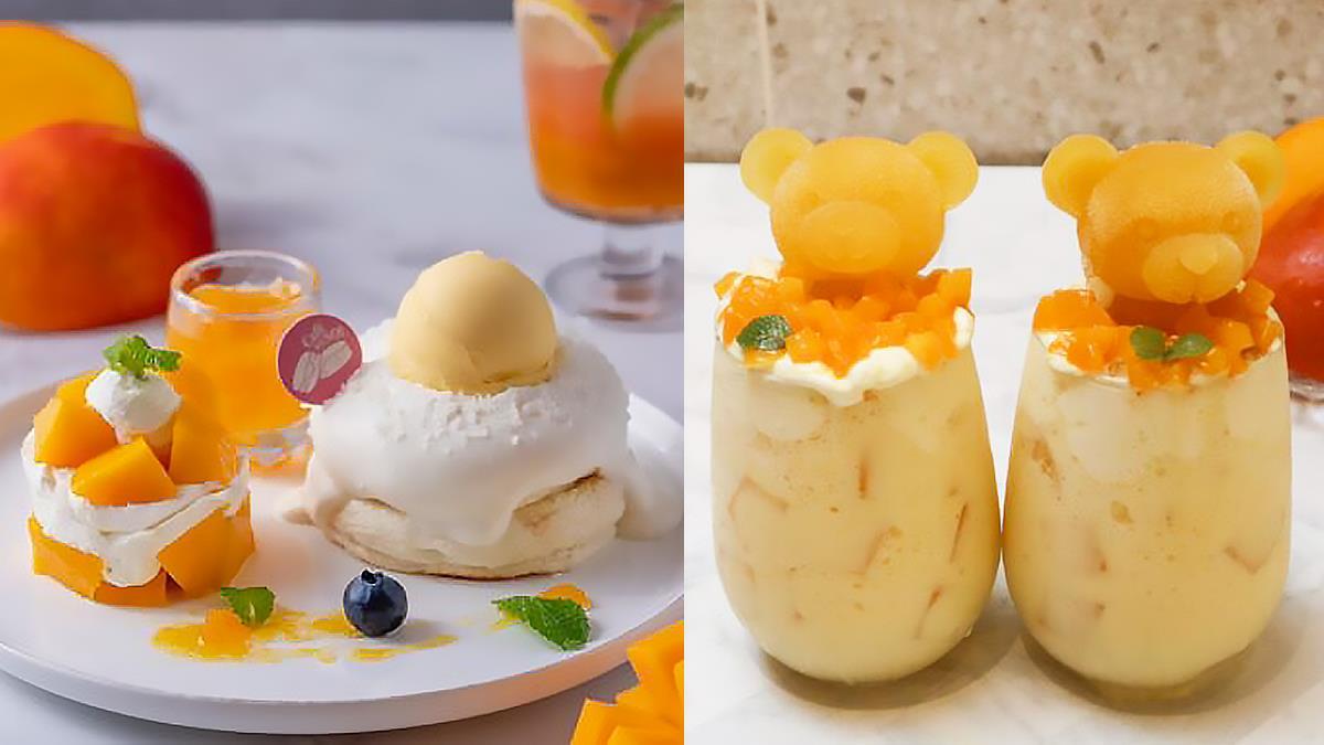 夏天就是芒果的季節!Café del SOL 楊枝甘露舒芙蕾登場,隱藏版芒果熊熊雪酪同步露面