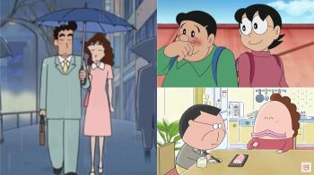 撿手帕遇見真命天子!日本經典4卡通「爸媽的愛情故事」,小丸子爸媽的「便便情緣」搞笑又浪漫~