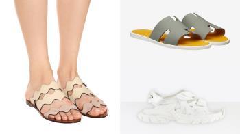 夏天就是要穿涼鞋!5款休閒、優雅皆適合的平底涼鞋,走在路上全靠涼鞋Hold全場~