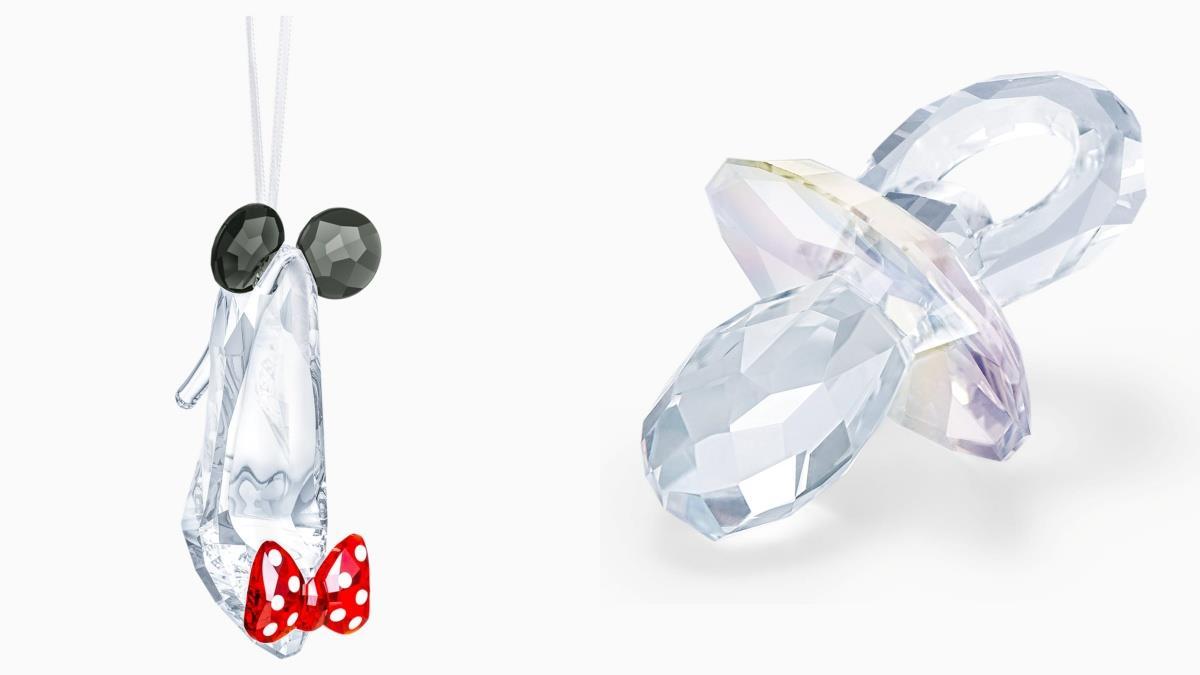 金湯匙太遜,現在都含鑽石奶嘴啦!精品「絕美浮誇水晶」系列,魔法水晶鞋灰姑娘絕對捨不得弄丟~