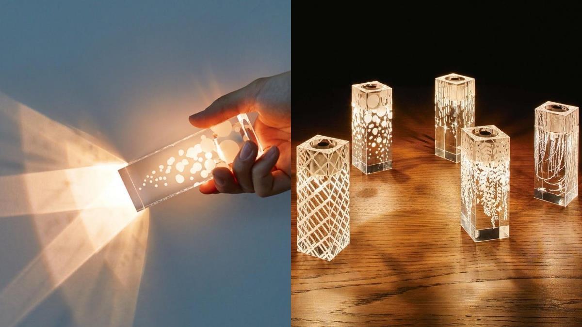 超實用的氣氛營造王!日本上架就秒斷貨的「唯美透明手電筒」,照明、擺飾、耍浪漫樣樣都能行!