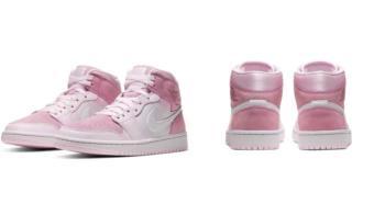 我粉紅我驕傲!NIKE推出夢幻「草莓牛奶JORDAN」鞋款,4種異材質拼接、男女都難以抗拒~