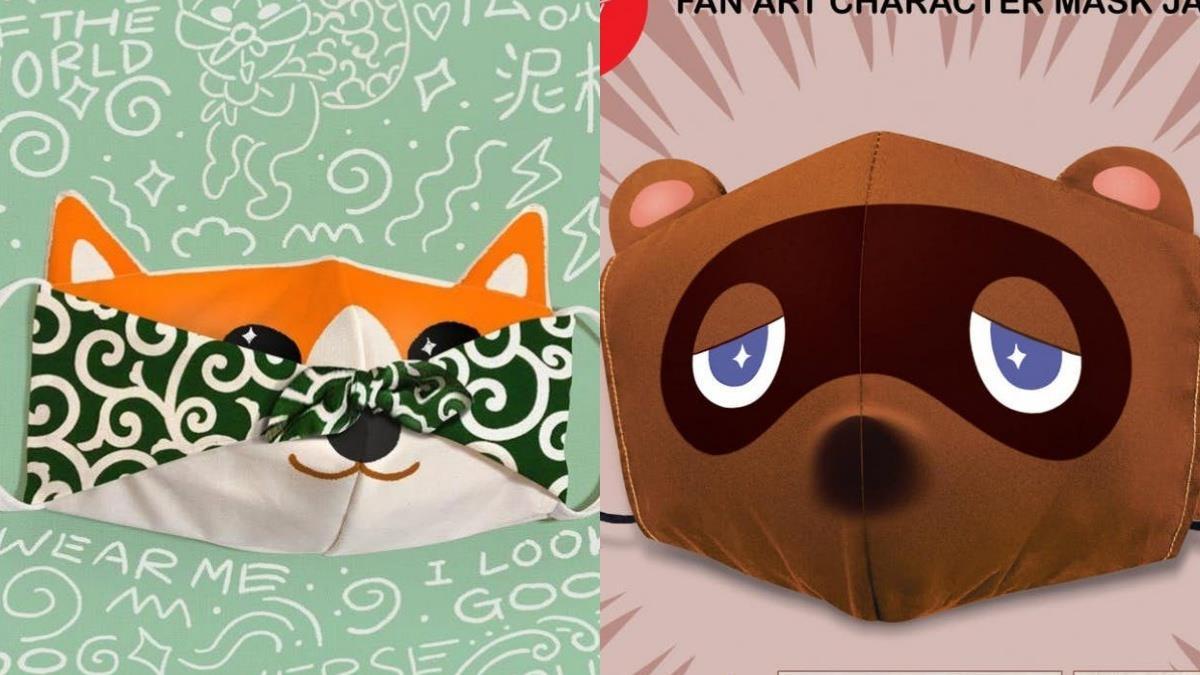 防疫也能走在潮流尖端!商家推出超可愛「動物口罩套」,還有超強客製化愛寵也能變身口罩套♥