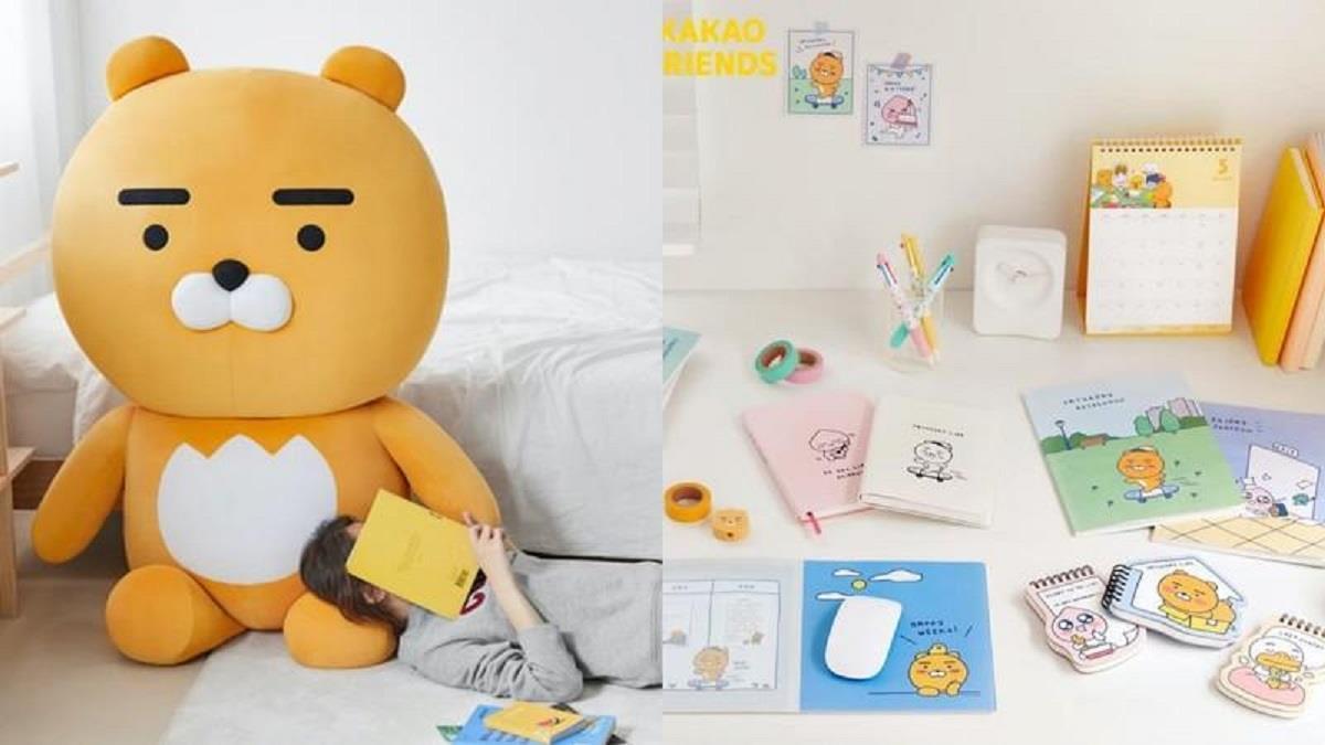 萊恩來台北了!KAKAO FRIENDS期間限定店156公分的萊恩玩偶登場,超過800樣超萌商品一次展出!