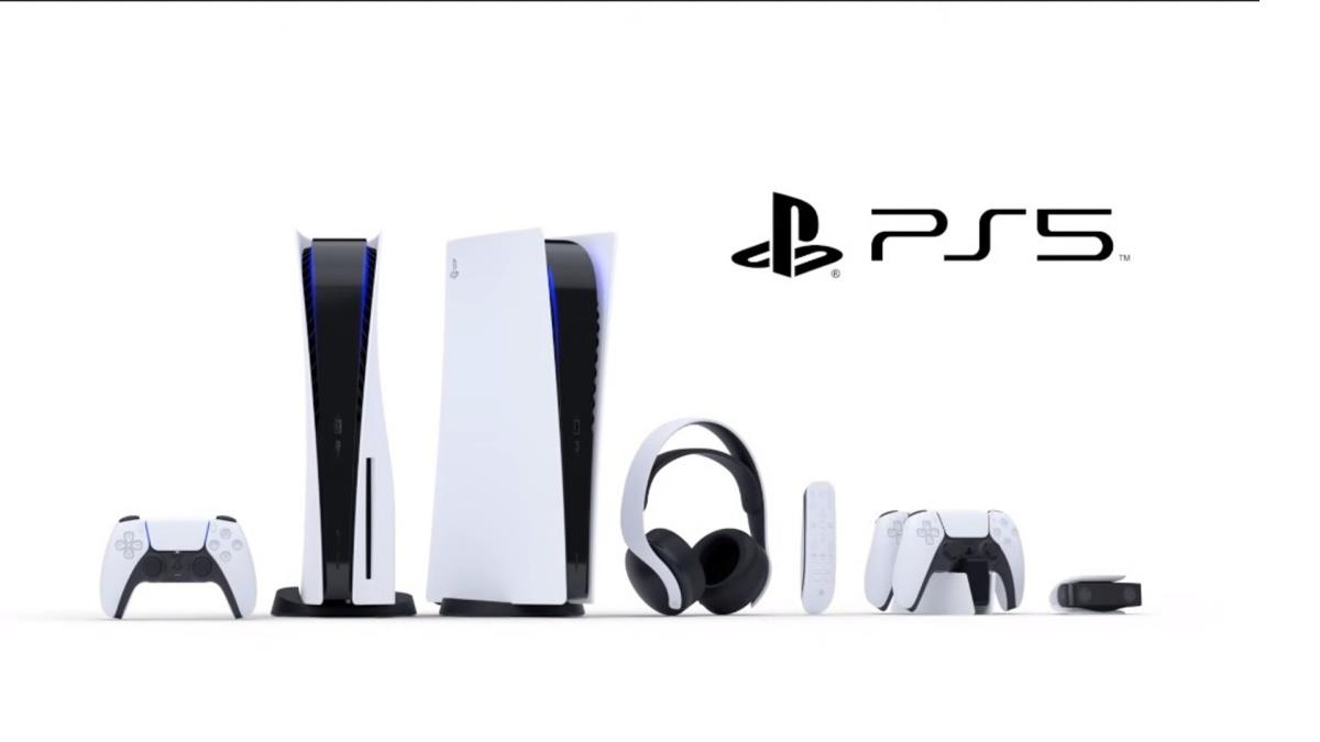 PS5本尊現身啦!「簡潔未來感」白色外觀搭配酷炫藍光,好看到想一次把主機&周邊通通抱回家~