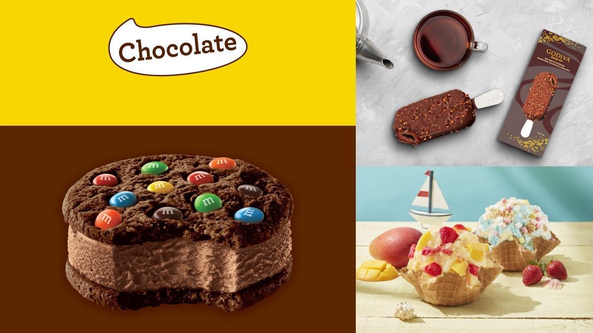 M&M'S巧克力化身冰淇淋!特搜6月必吃4款夏日冰品,濃純巧克力冰棒、芒果聖代通通吃得到!