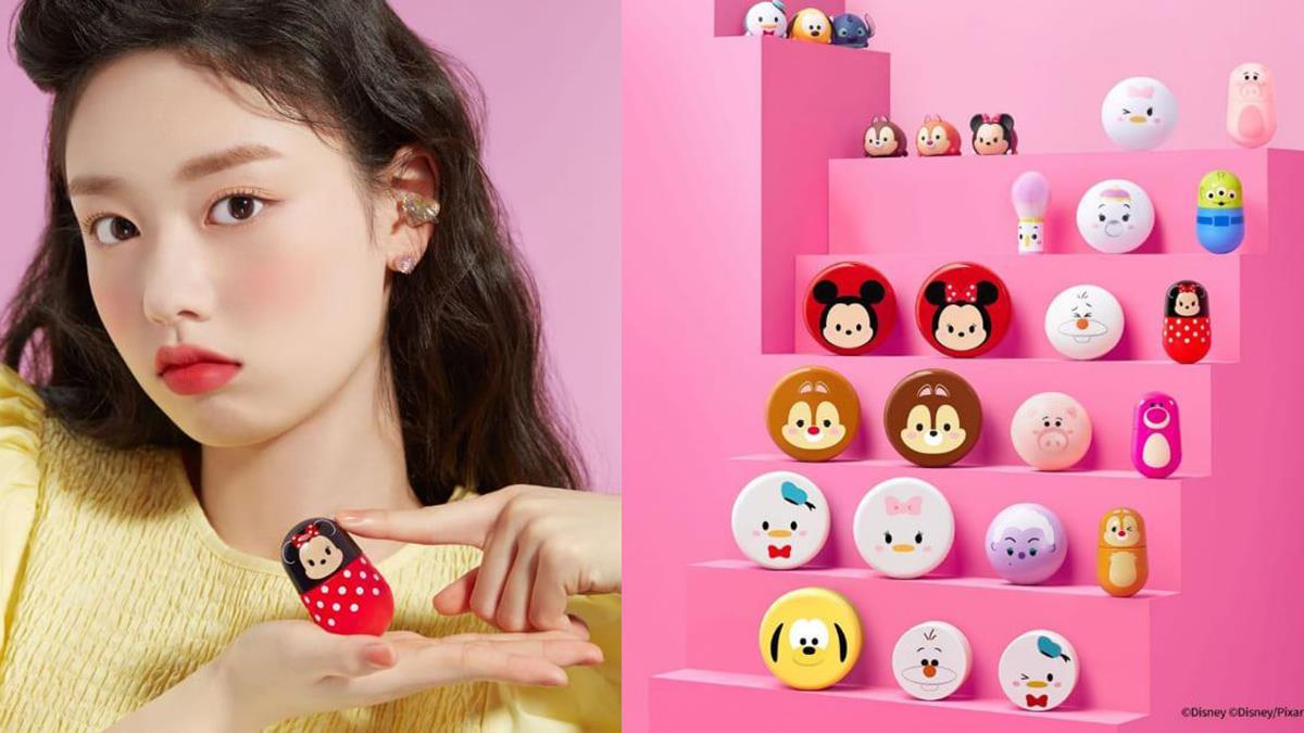 到底是唇膏還是玩具?Etude house X 迪士尼TsumTsum推出聯名系列,爆可愛鞦韆禮盒根本是年度最強少女殺手~