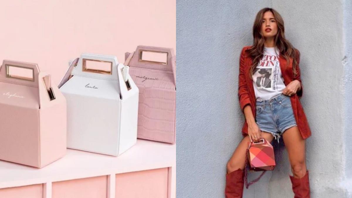 粉紅控必備款!洛杉磯品牌推出夢幻「外帶盒手提包」,瞬間躍登IG時尚新寵兒♥