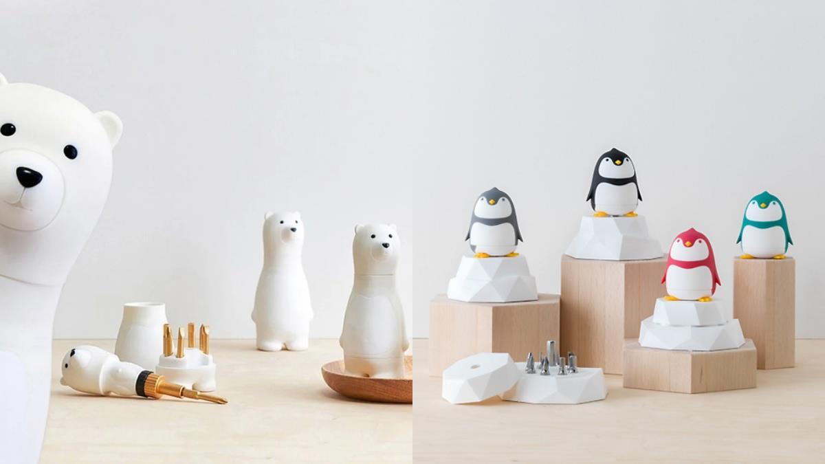 化身工具熊擄獲你的心♥台灣設計品牌推出「熊爸爸螺絲起子」,還有企鵝造型實用又可愛!