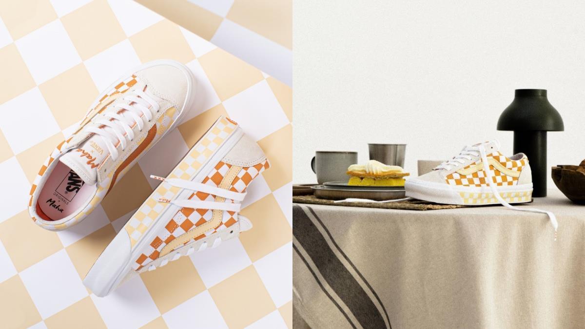 夏日靠它成為俏皮甜心!Vans 最強聯名款「夏日檸檬柳橙色」球鞋,充滿細節甜度滿分♥