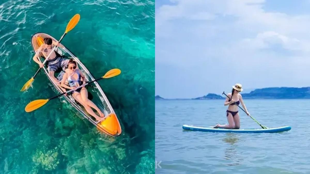【全台推薦水上活動】夏天必體驗的10大玩水活動,浮潛、潛水、SUP樣樣都有!