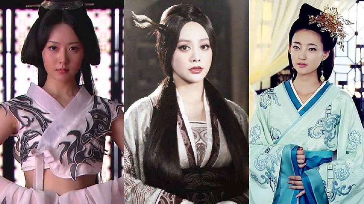 10位經典劇裡的古裝女神!第一代后宮霸主不是孫儷《甄嬛傳》是寧靜,當年不修片也美!