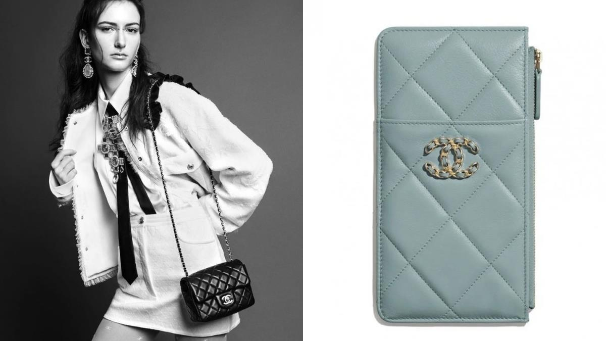 夢想清單再添上一筆!Chanel夢幻「青瓷綠」系列,加大菱格紋+雙C logo時尚又優雅任何場合都完勝!