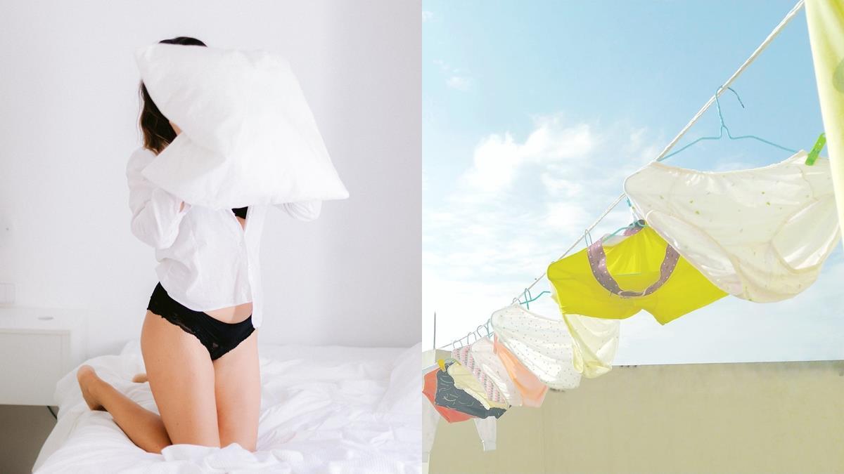 給女孩的內在美悄悄話!女孩必知「5個內褲的秘密」關係到健康,手洗VS機洗究竟哪個更乾淨?