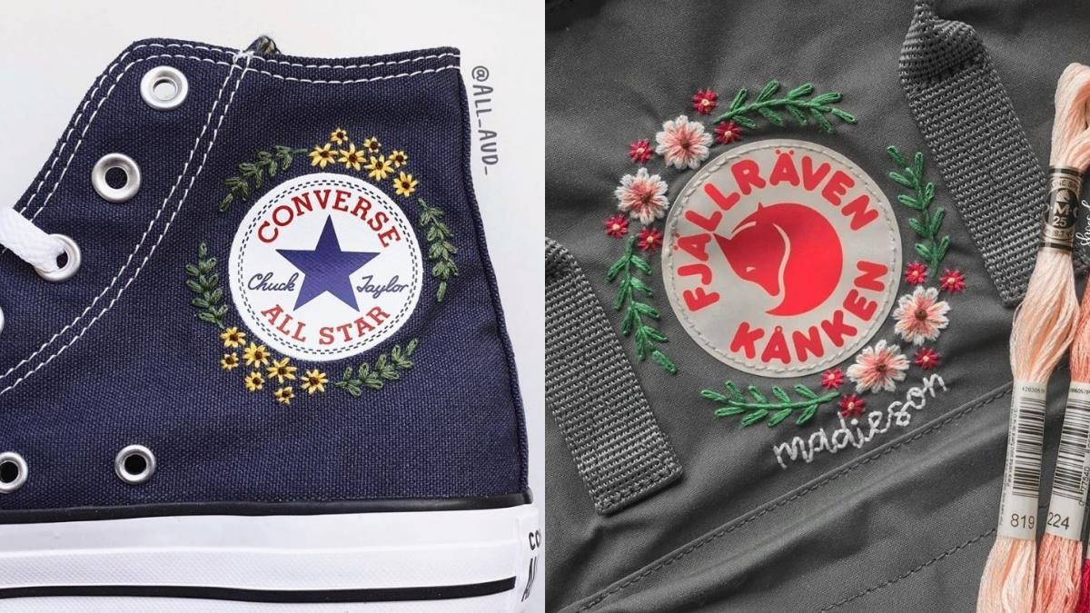 世上僅有一個決不撞鞋!超夢幻「袋鞋刺繡」打造專屬配件,自訂圖騰Converse回頭率超高!