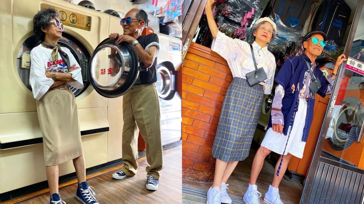 用舊衣服穿出絕美愛情!爆紅「萬秀洗衣店」阿公阿嬤的情侶穿搭:復古西裝Style配老派約會超有型!