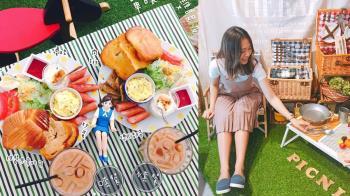 想野餐不用怕曬黑!台北《室內野餐餐廳TOP5》:超想變身愛麗絲到這「草坪餐桌」來一場華麗野餐冒險啊!