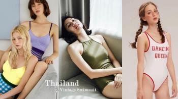 誰說泳裝一定要很性感?IG爆紅「泰國泳衣」5品牌推薦,俏皮又復古當外出服也可以!