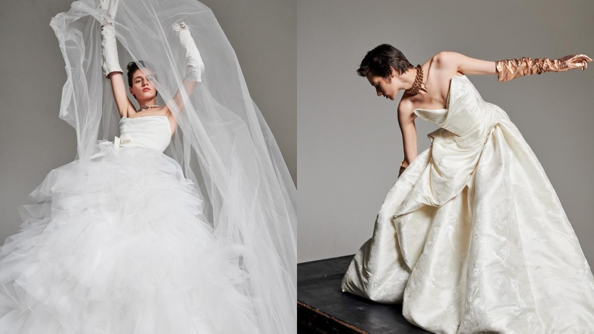 和婚紗來一場網戀♥歐美夢幻婚紗品牌開放「線上訂製」,18世紀巴洛克風、成為最時髦復古的女神吧!