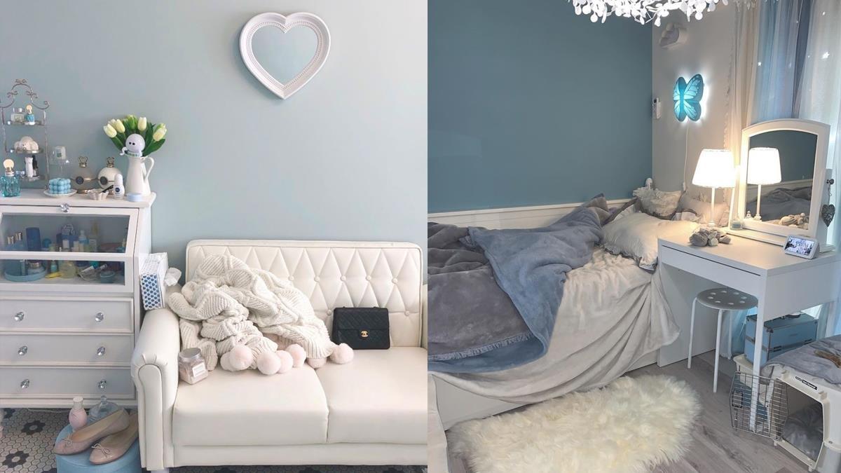 打造唯美居家空間!今年最受歡迎的房間配色就是「灰藍色」