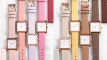 一天一色隨心變換!日牌超夢幻「馬卡龍粉彩手錶」,大地色、莫蘭迪色系33種顏色任你pick♥