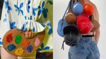 把城市變成你的時尚發表會!五款超吸睛「時尚怪美包」,帽子包、大象包承包你的時髦感♥