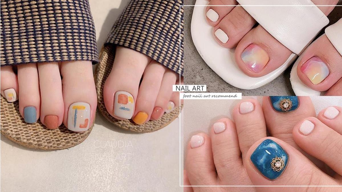夏天穿涼鞋腳趾也要美!4款「IG極簡風」足部美甲圖鑑,露出腳趾頭也可以乾淨又高級