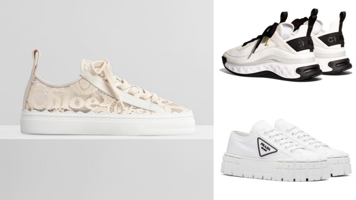 屬於仙女的小白鞋!精選4款「輕奢精品百搭小白鞋」,奶油蕾絲鞋、方糖厚底餅乾鞋太美膩!