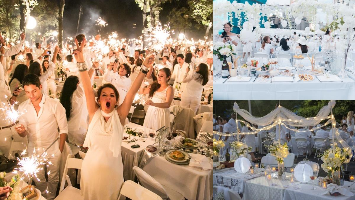 絕美法式浪漫野餐日要來了!2020台北白色國際野餐「神秘地標」成最大亮點,土生土長台北人都猜不出?
