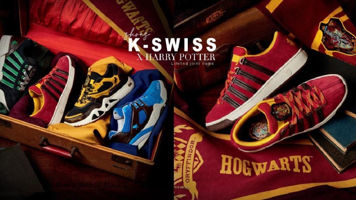哈利波特歡慶20周年!K-SWISS Ⅹ 「霍格華茲4大學院聯名鞋款」限量上市,這次台灣也買得到!
