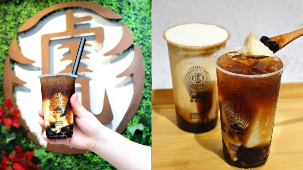 每杯都放進一整顆中華豆花!老虎堂推出「黑糖豆花系列」手搖飲,還可搭配波霸鮮奶或奶蓋!