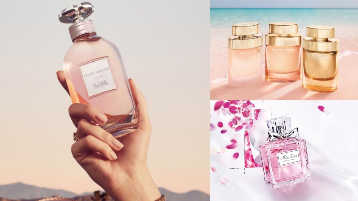 噴一身唯美甜蜜!夏日3款《粉嫩淡香水》不過重的香味剛剛好,西西里柑橘、清甜蜜梨約會必備~
