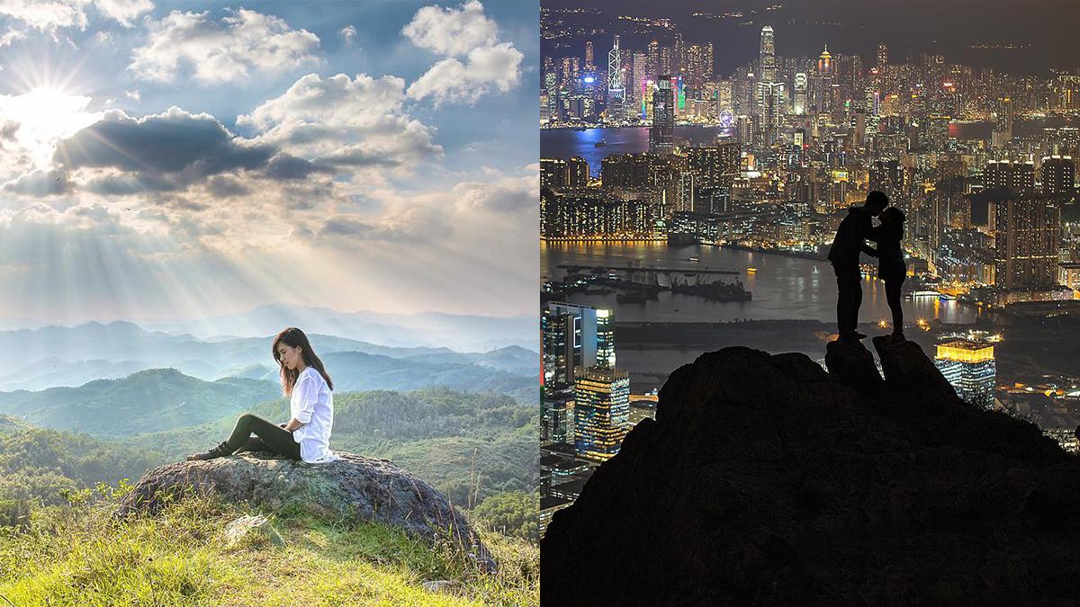 沒人比他們更懂得放閃了!香港「山系情侶」照片特輯,尤其第六張根本是《來自星星的你》啊!