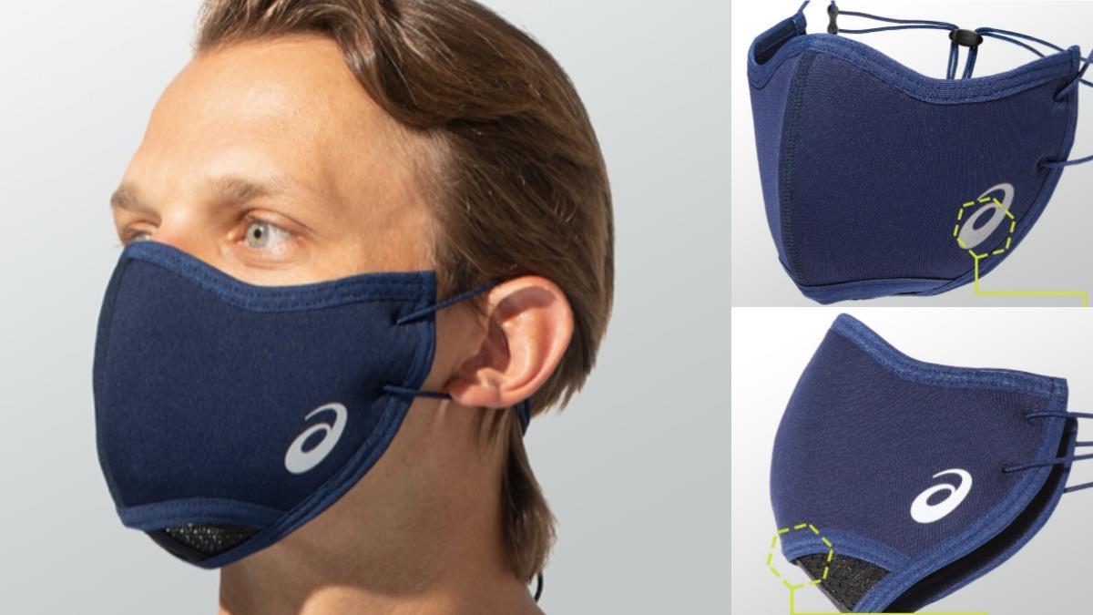 防風砂&顧健康!ASICS為跑者設計「跑步口罩」,5大吸睛亮點,戴著跑馬拉松不是夢~