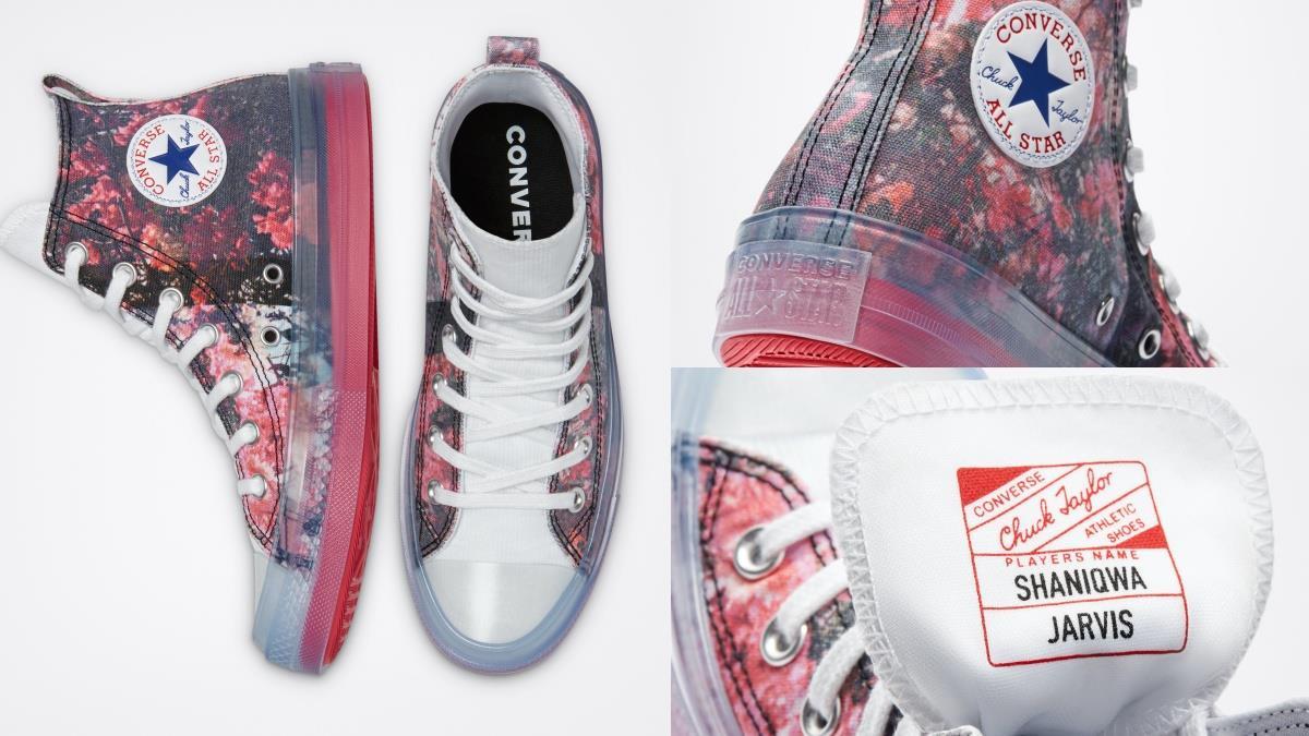 化身夏日最美的花仙子!Converse全新「花卉聯名鞋款」,果凍鞋底+滿版唯美印花獨特精緻~