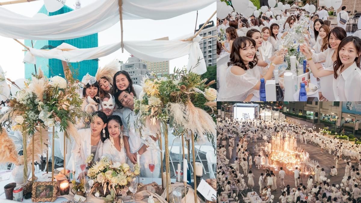 屬於白色仙女的聚會!水水不能錯過的「2020台北國際白色野餐」登場,售票資訊、必備知識大公開~
