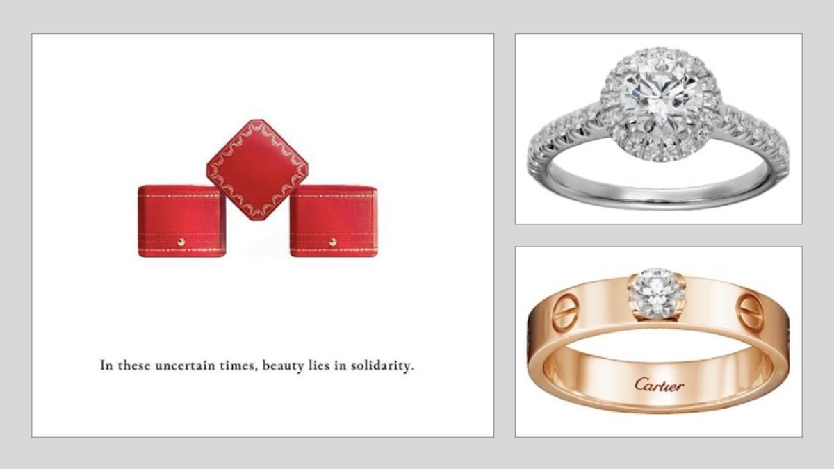 戴上手指完成最美的愛情!卡地亞經典紅盒「5款百搭入門婚戒」推薦,夢幻設計、配上鑽石不出錯~