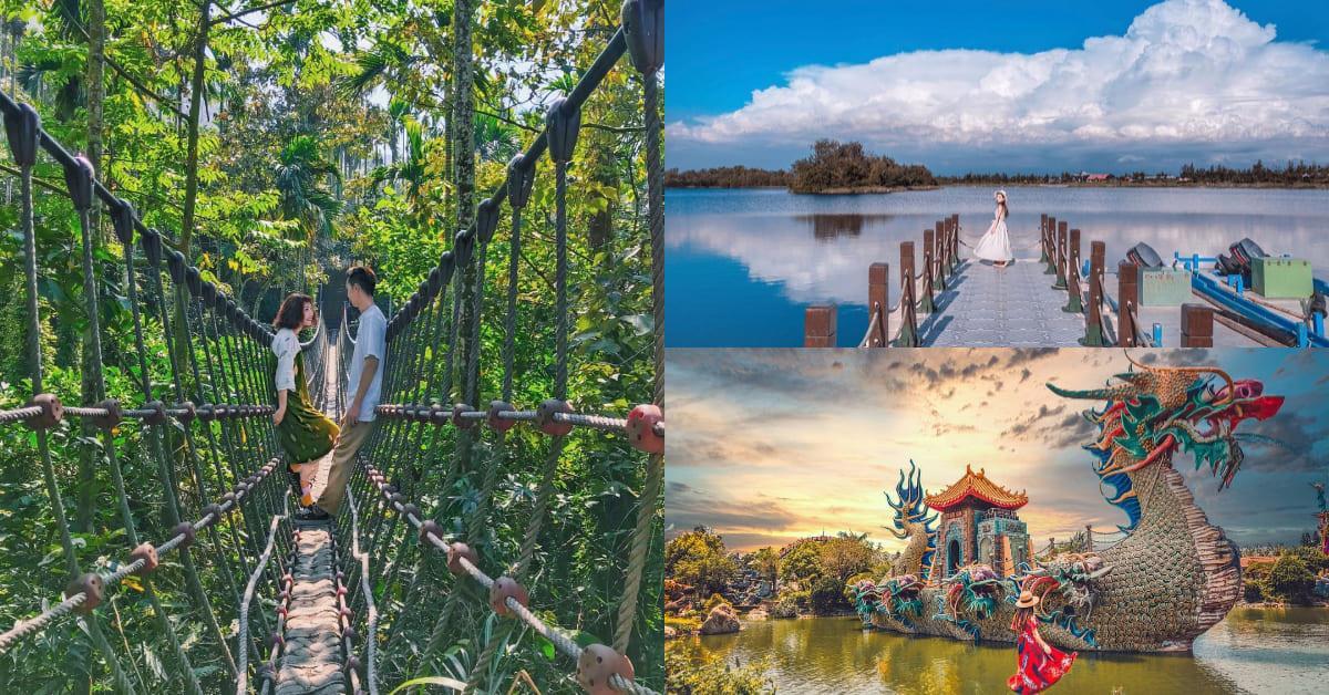 就像是出國!雲林打卡「絕美5大秘境」快收藏,泰國叢林、神秘峽谷、全台最大寺廟只在這裡看得到