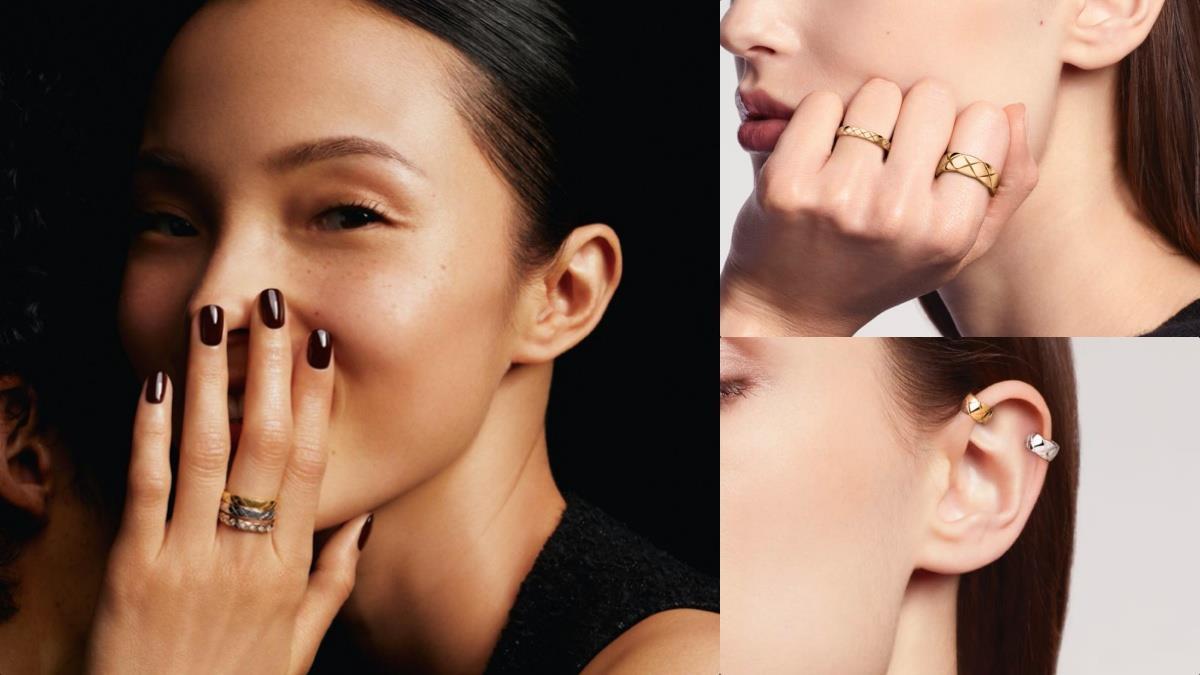花小錢買優雅氣質!香奈兒Coco Crush菱格紋窄版戒指好迷人,獨特「香奈兒米色調」是仙女的顏色~