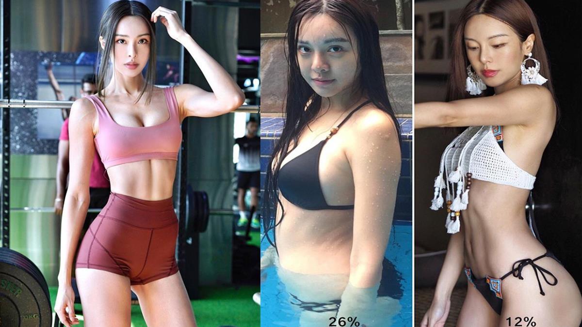 蜜桃翹臀不是一天練就的!芭蕾女神瘦身「赤字飲食法」,體脂26%→12%完美身材靠訓練完成~