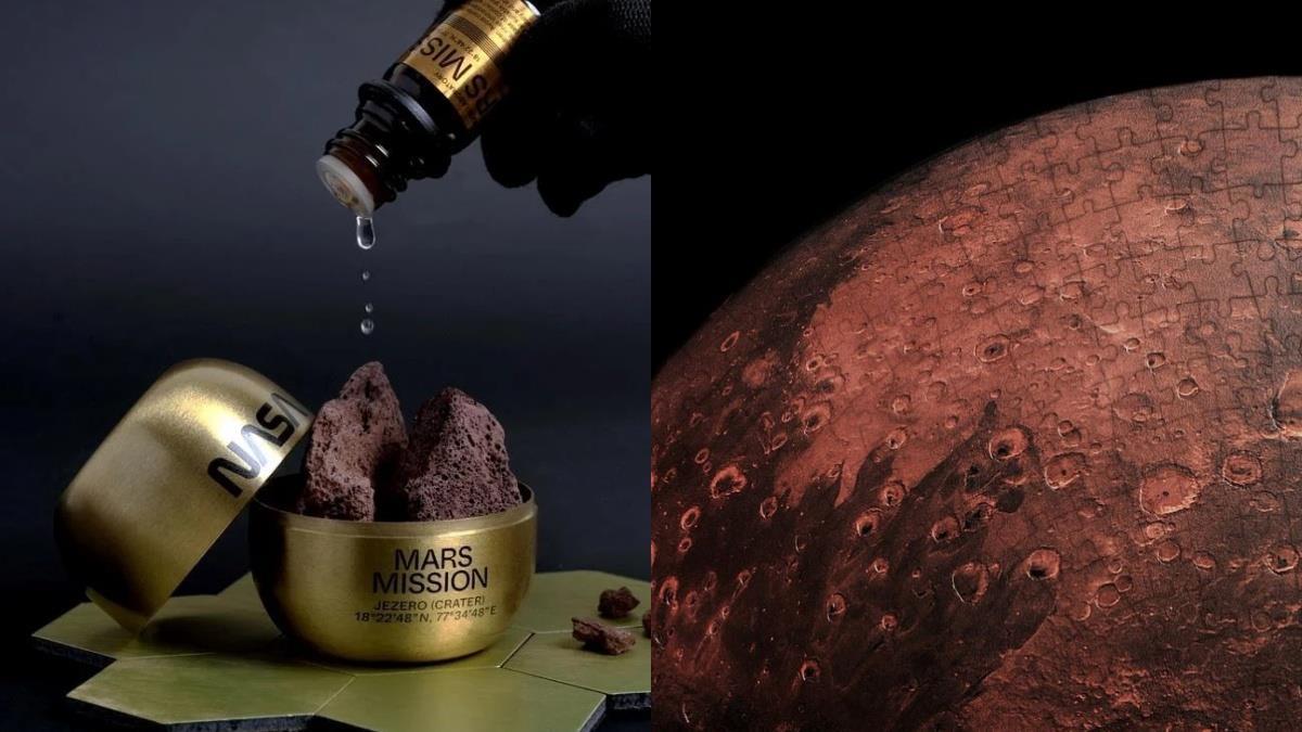 還原火星味的香水登場!Anicorn╳NASA聯名配件&小物,超逼真火星拼圖還能結合AR實境~