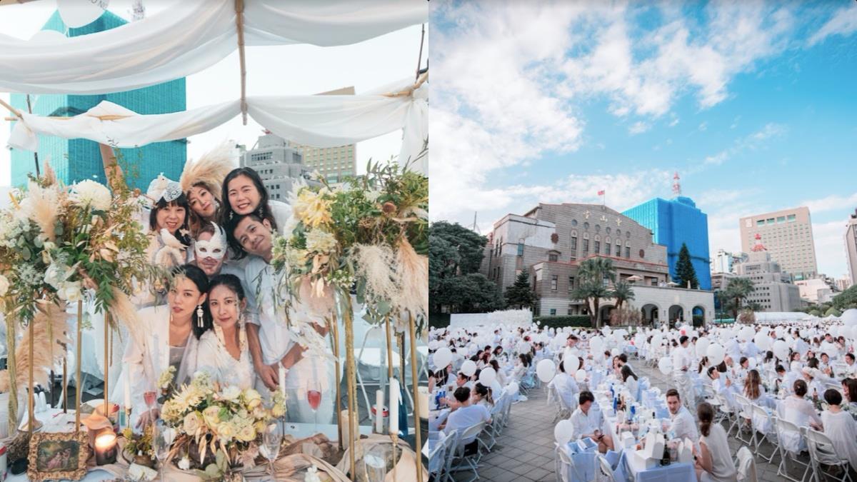 預習妳的法式浪漫!2020「台北國際白色野餐」京站搶先體驗開跑:雙人套票打卡抽、金曲歌手浪漫獻唱!