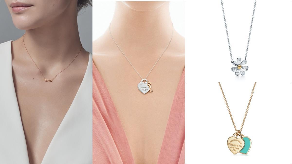 與情人永遠心心相印!精選5款Tiffany&Co.入門級浪漫項鍊,迷你雙心設計X藍綠色細節越看越愛~